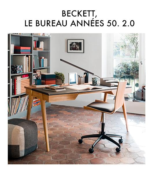 Beckett, le bureau années 50. 2.0